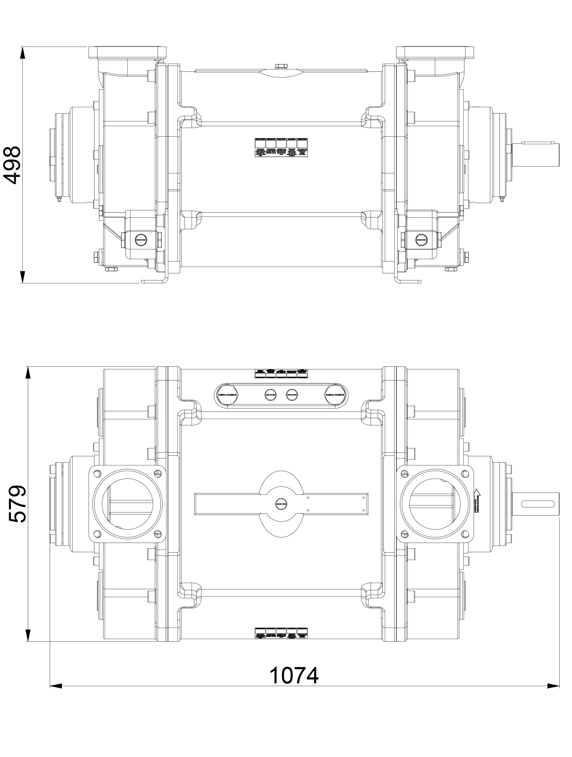 TM2500 g2.0 Dimensions